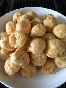 Holiday gougeres