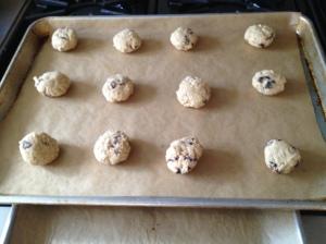 Uncooked Oatmeal cookies