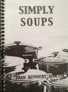 Mom's soup cookbook
