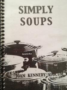 Mom's soup cookbook