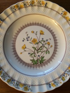 Nana's buttercup china pattern