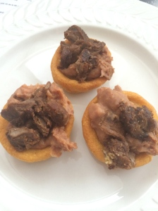 Sope with beef