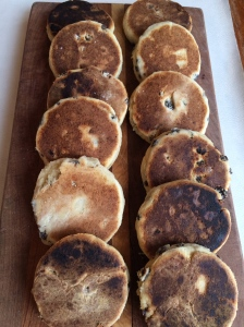 Welsh tea cakes
