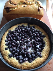 Lemon Poppyseed Blueberry Cake