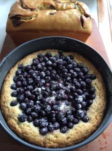 Lemon Poppyseed Blueberry Cake