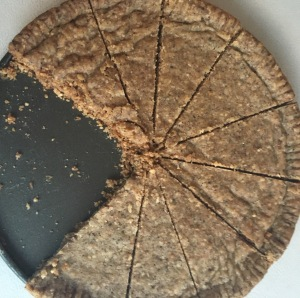 Coffee+Cardamom Shortbread