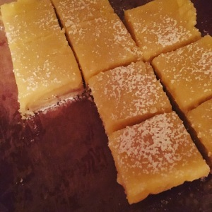 Heavenly Lemon Squares