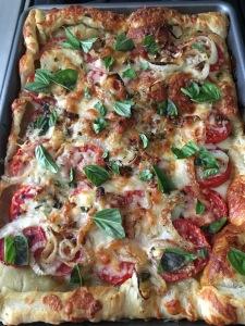 Tomato Mozzrella tart