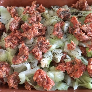 sausage-and-cabbage