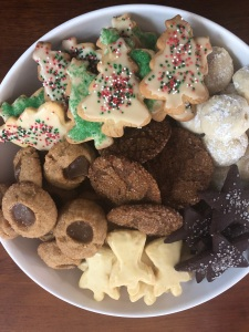 Xmas cookie assortment